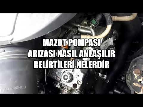 Mazot Pompası Arızası Nasıl Anlaşılır, Bozulursa Ne Olur, Dizel Yakıt Pompası Tamiri
